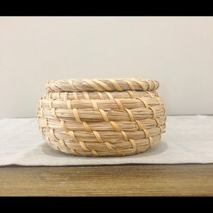 Vintage Accents - Boho Small Wicker Basket
